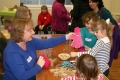 Having fun at Messy Church. Pictures by Mike Ellis.