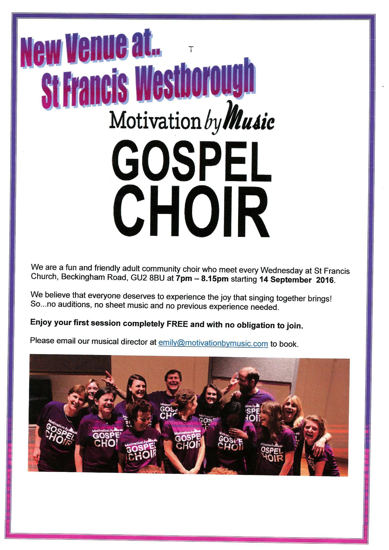 MBM Choir