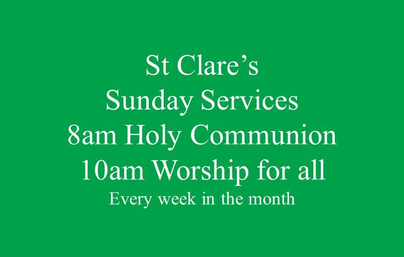 st-clares-services