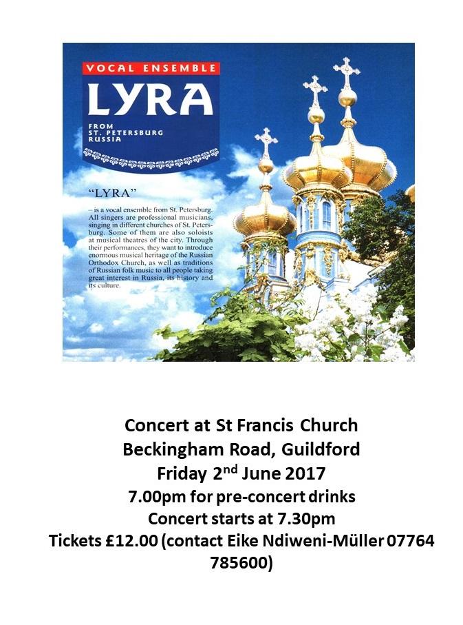 St Francis Concert