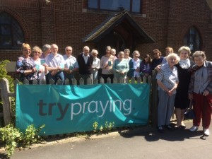 Joining in with the try Praying initiative