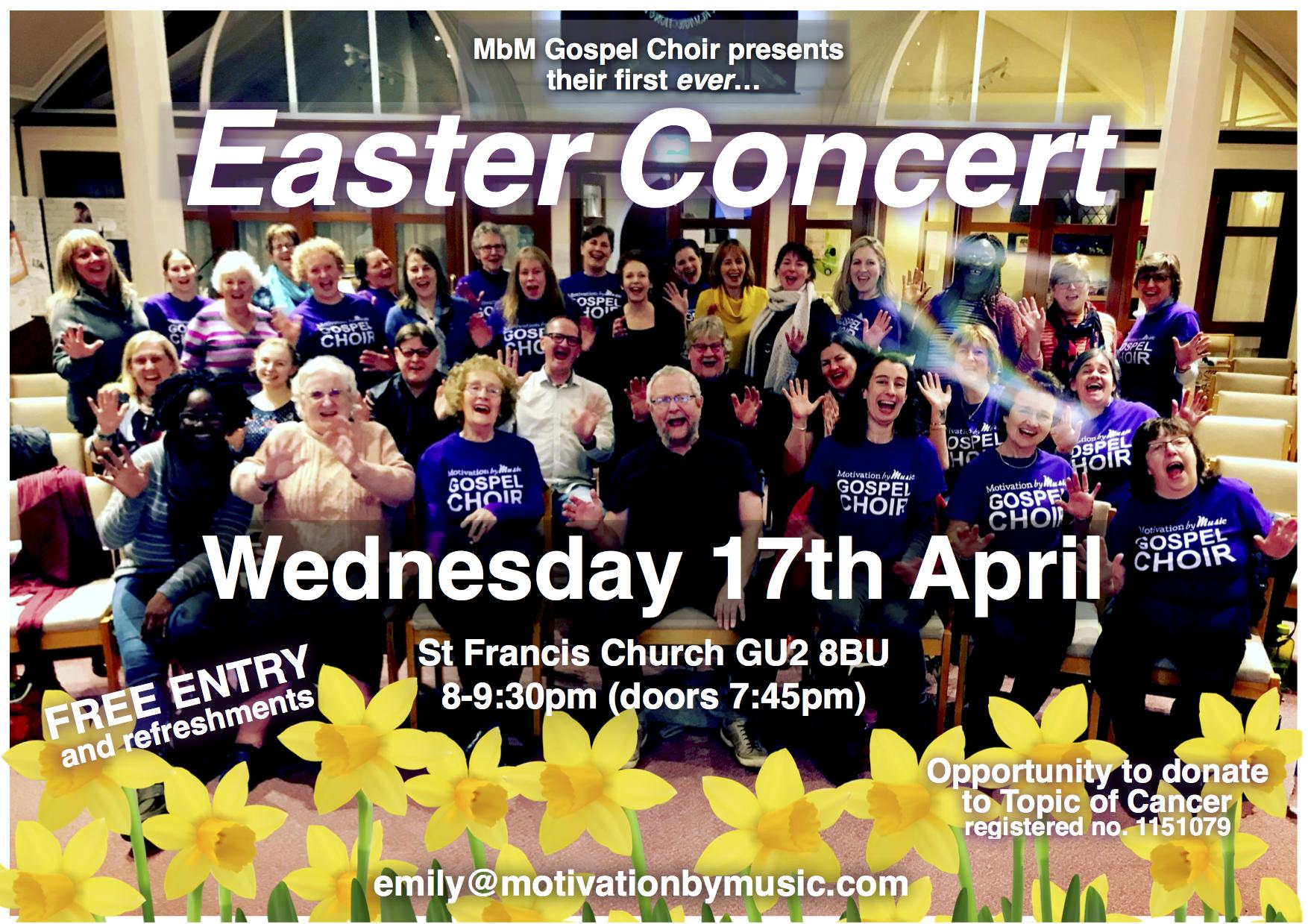 MbM Easter Concert